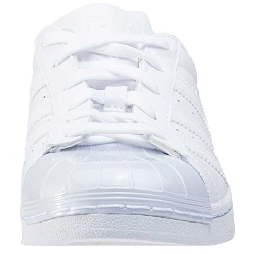 adidas Superstar Glossy To, Sneakers Basses Femme Blanc (Ftwwht/ftwwht/cblack)