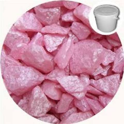 Piedras decorativas de color rosa para bodas y ceremonias (5 kg)