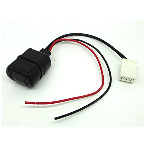 AMSAMOTION Adaptador de módulo de audio Bluetooth Citroen Peugeot 207 iPhone MP3...