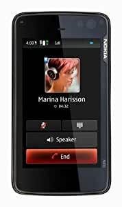 "Nokia N900 Téléphone portable Ecran 3,5"" Bluetooth Appareil photo 5 Mpix mp3 Radio FM GPS Noir"