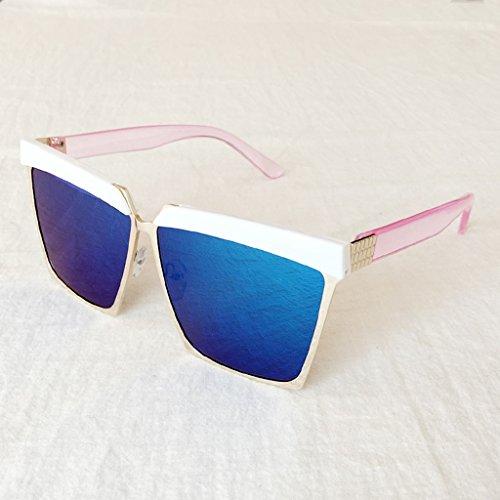 Qqb bicchieri personalità uomo occhiali da sole uomo e donna guida occhiali da sole retro occhiali da sole (colore : c)