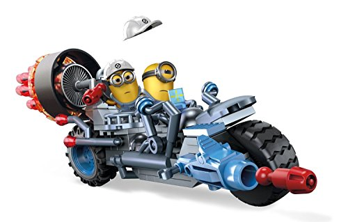 Mega Blocks Dpg71 - Minions Veicoli Cattivissimo Me Motorcycle Maihem