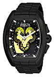 Invicta 27055 Reserve Reloj para Hombre acero inoxidable quarzo Esfera negro