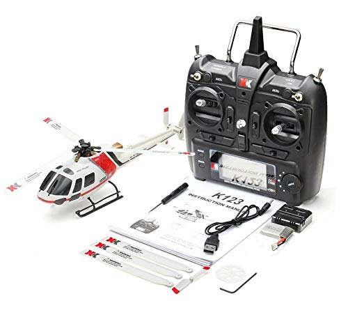 Zantec XK K123 6CH Brushless AS350 Skala 3D6G System RC Hubschrauber RTF Upgrade WLtoys V931 -