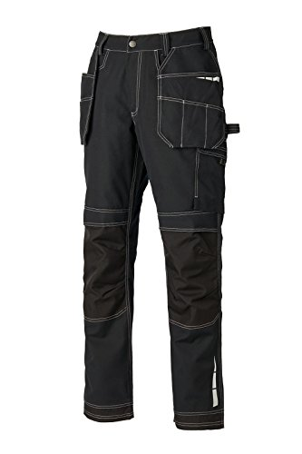 e76997a148b Williamson Dickie Dickies Extreme Work Trousers Black EH26801 Waist 34