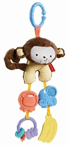 Fisher Price My Little SnugaMonkey Stroller Rattle Monkey by Fisher-Price