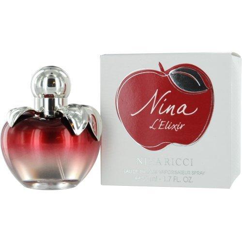 Nina L'Elixir Ricci Eau De Parfum Spray for Women, 1.7 Ounce