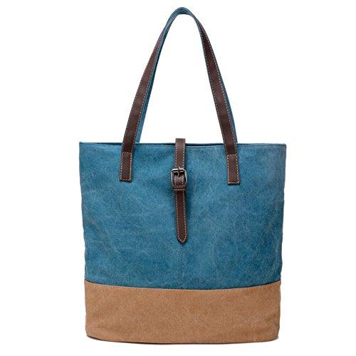 borsa di tela Ms./borsetta/borsa a tracolla minimalista letteraria/borse casual retrò originale-A B