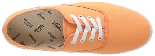 Victoria Inglesa Lona, Sneaker Unisex-Adulto Arancione (Mango)