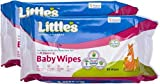 #8: Little Baby Wipes [80 Sheets] 4 Packets+2Tooth Brush Free
