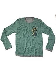 Z-BRAND Herren Sweatshirt Reversible Gothic Shield