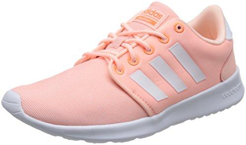 adidas Damen Cloudfoam QT Racer Gymnastikschuhe Pink (Haze Coral S17/Ftwr White/Hi-Res Orange S18) 41 1/3 EU