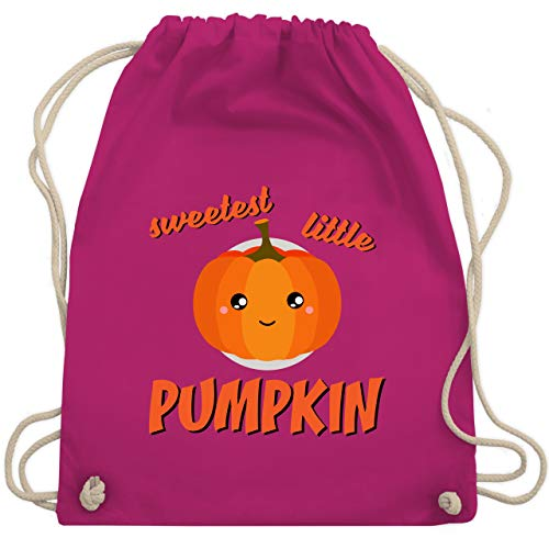 Anlässe Kinder - Sweetest little Pumpkin Halloween - Unisize - Fuchsia - WM110 - Turnbeutel & Gym Bag (Gruppe Kid, Ideen Halloween-kostüm)