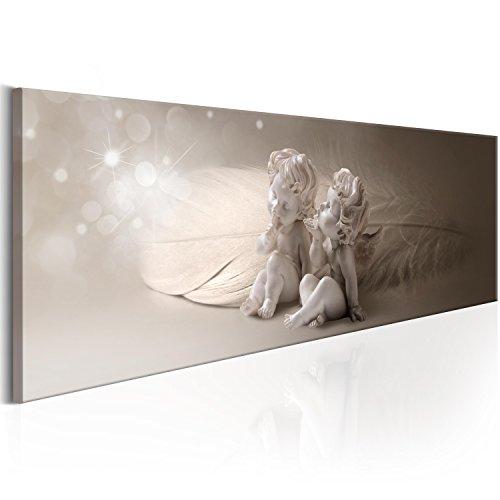 murando - Bilder Engel 120x40 cm Vlies Leinwandbild 1 TLG Kunstdruck modern Wandbilder XXL Wanddekoration Design Wand Bild - Abstrakt Pusteblumen h-C-0054-b-a