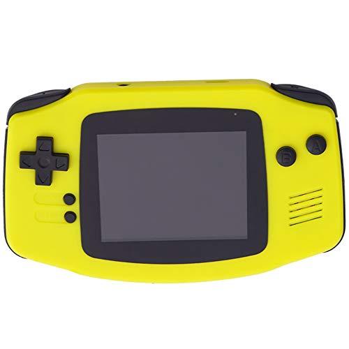 SU Kind Erwachsener Spielmaschine Spielzeug Enthält 400 Spiele Klassisch Mini FC,Yellow