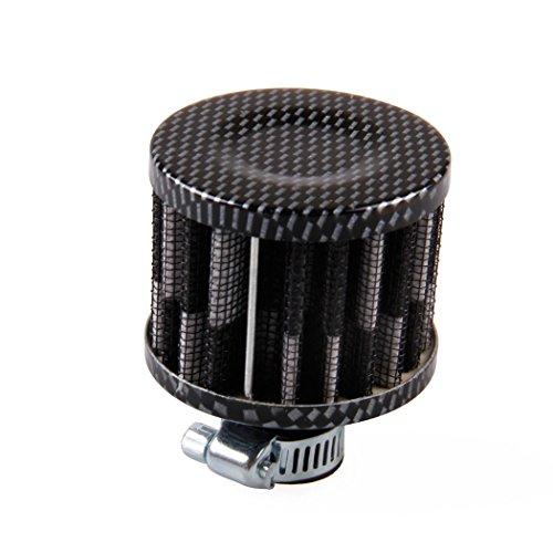 Motorrad Luftfilter, Fansport Einlassfilter Kurbelgehäuse Mini Auto Kaltluftfilter