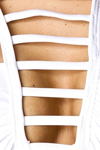 Strato scheletro Bikini Bianco