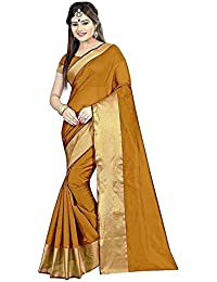 Visva Fashion Womens Multi-Coloured Georgette Saree With Blouse Piece Free-Size