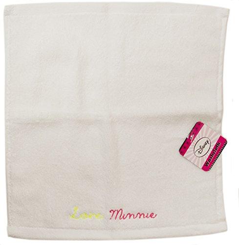 Jay Franco Disney Minnie Mouse Bowtique Badematte, getuftet, Fuchsia WASH Cloth White Wash Cloth