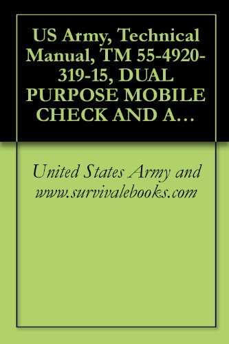 US Army, Technical Manual, TM 55-4920-319-15, DUAL PURPOSE MOBILE CHECK AND ADJUSTMENT/GENERATOR STAND FOR AUXILIARY POWER UNITS, T-62T-2 A T-62T-2A, (English Edition) -