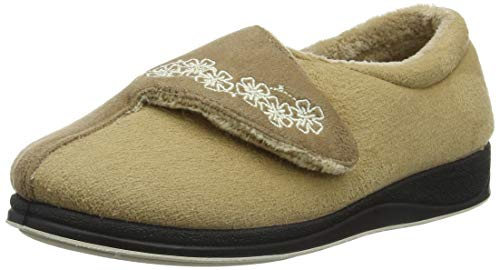 3f886dd01c8 Padders Hug, Chaussons Bas Femme, Beige (Taupe/Camel 22), 37