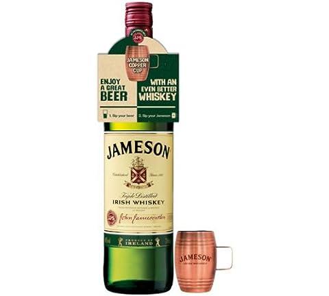 Jameson Original Irish Whisky Copper Cup Gift Set 70cl