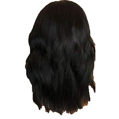 Amfirst Perücke Frauen Damen Haar lockige Lang Wig für Karneval Fasching Cosplay Party Kostüm Blond Weiblich Damenmode Perücke schwarz Kunsthaar lange Perücken Welle lockige - Weibliche Elvis Kostüm