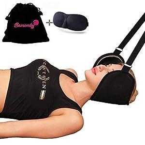 BAMOMBY Hals Hängematte Bessere Hals Relax Tragbare Nackenmassagegerät Schmerzlinderung Kopf Nacken Massagegerät Für Männer Frauen