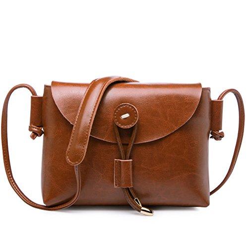 Monospalla piccolo pacchetto/vintage messenger bag/sacchetto della signora di svago-M J