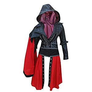 Assassin's Creed – Frauen-Kostüm Syndicate Evie Frye Lederjacke