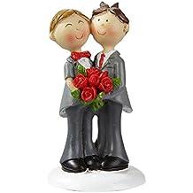 Hochzeitspaar Gay Hochzeit Figur Deko Brautpaar Mann Männer ...