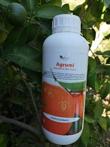 bio a.l.t concime liquido fogliare biologico,uso professionale per agrumi,arancio, mandarino, limone, cedro, ecc 1 kg
