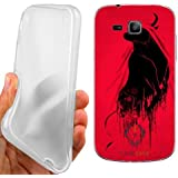 CUSTODIA COVER CASE TORO ABSTRACT PER SAMSUNG GALAXY TREND PLUS S7580