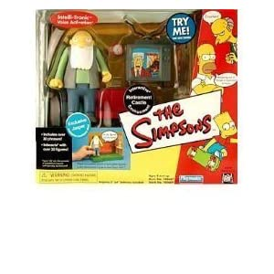 The Simpsons - World of Springfield Interactive Environment (Playset) - Retirement Castle w/exclusive Jasper figure by… 3
