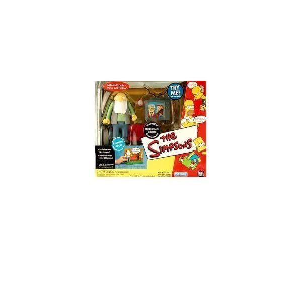 The Simpsons - World of Springfield Interactive Environment (Playset) - Retirement Castle w/exclusive Jasper figure by… 1