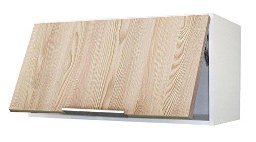 Berlioz Creations Subwoofer Basso di Cucina EPICIER Frassino sabbiato Pannelli di Particelle 15/x 52/x 83/cm