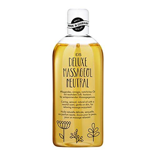 Deluxe Massageöl von EIS, Erotisches Massage Öl, neutraler Duft, 250 ml