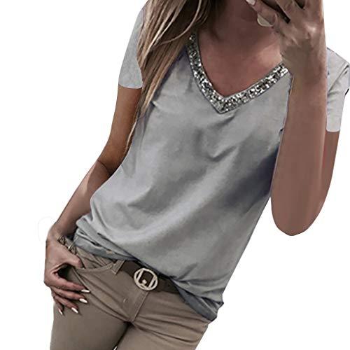 UFACE Damen Pailletten Verziert Sparkle Trägershirt-Weste Shimmer Glam Party Sommer Camisole Ärmelloses Oberteil Tops Loose -