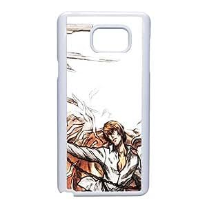 Death Note Light Yagami Ryuk la création d'Adam Art Parody 101922 Samsung Galaxy Note étui de téléphone cellulaire 5 coque coque Case blanc de couverture de téléphone portable EEECBCAAI74682