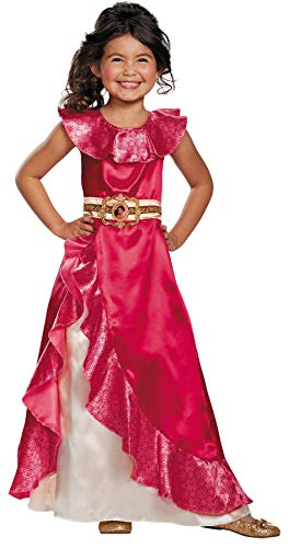 Sofia Kostüm Disney - Disguise Elena Adventure Dress Classic Elena of Avalor Disney Costume, Small/4-6X by Disguise