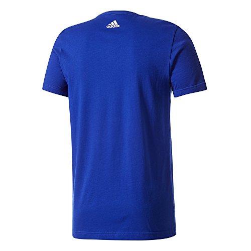 adidas Herren Linear Knitted T-Shirt Collegiate Royal