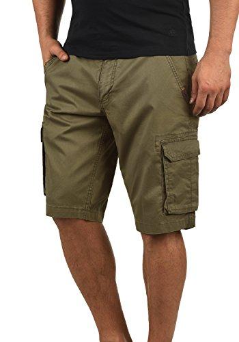 SHINE Original Michigan Herren Cargo Shorts Bermuda Kurze Hose Aus 100% Baumwolle Regular Fit, Größe:M, Farbe:Light Army