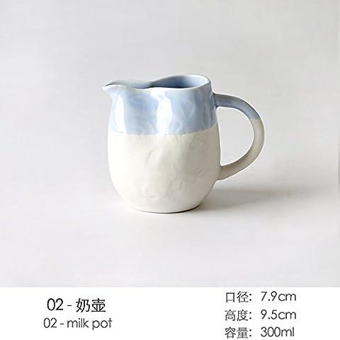 Personalità Creative Western posate home-piatto blu Pack Western vassoio del disco Zuppa Insalata ciotola. Disco di pesce ,26,5*2.3cm,6 parte a 0230 ore)