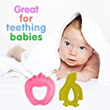 BOXO Silicon Teethers For Babies, Teethers For Babies, Multi Color, Pack Of 1