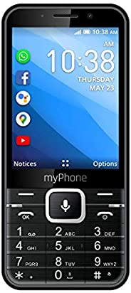 myPhone Up Smart telefon dla seniora babci dziadka z Whatsapp, Facebook, Google Apps, 3.2 cala, duża bateria 1