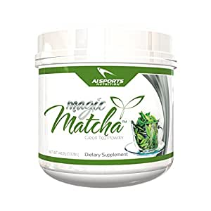 Magic Matcha Green Tea Powder By Ai Sports Nutrition Pure Japanese Green Tea Powder Diet Supplements Unsweet 144 2 Gram Amazon In Health Personal Care