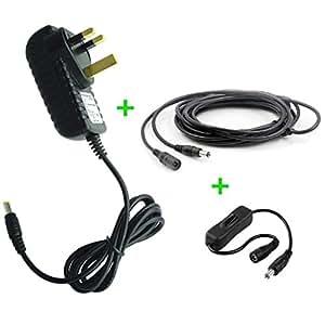 12V Virgin Media Superhub Router replacement power supply adaptor - Premium