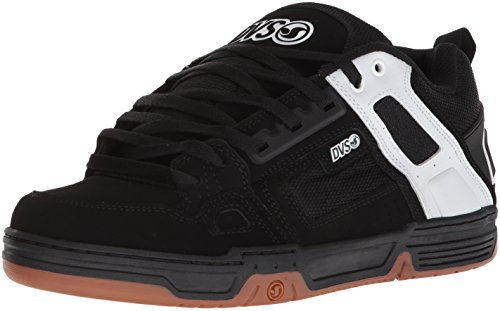 Zapatos Dvs Comanche Negro-Gris Nubuck (Eu 42.5 / Us 9 , Negro)