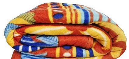 Jubination Multicolor Printed Single Bed Fleece Blanket/ Kambal (ASSORTED)  available at amazon for Rs.284