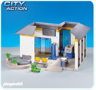 PLAYMOBIL City Action 6300 Flughafen-Terminal (Folienverpackung) -